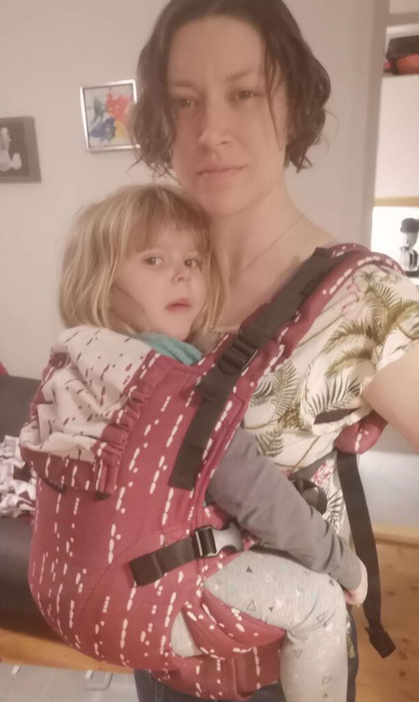 3-årig i ISARA The One bæresele